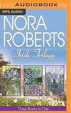 Nora Roberts Irish Trilogy- Jewels Sun, Tears Moon, Heart Sea UNABRIDGED MP3 NEW