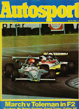 Autosport 15 May 1980 - Vallelunga F2 March Toleman, Silverstone 6 Hours, Esprit