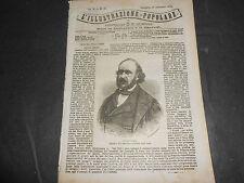 1870 GIULIO SIMON INCISIONI PARIGI A VOLO D'UCCELLO LE AMBULANZE