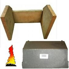 CLAY FIRE BRICKS & BAFFLE THROAT PLATE FOR A MORSO SQUIRREL 1410/1430/1440