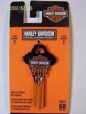 Harley Davidson  Schlage House key blank