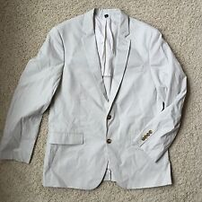 J Crew Factory Thompson Suit Jacket in Chino 38647 Stone 42R NWT