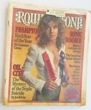 Rolling Stone Magazine Feb 10th 1977 Peter Frampton Rock Star Of The Year Cover