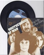 "Brotherhood of man, Kiss me, kiss your baby, VG/VG,  7"" Single 1010-4"