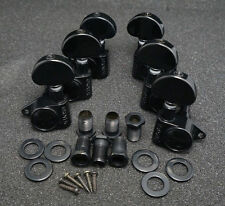 Grover Rotomatic 102-18 BLACK TUNERS 3x3 for Gibson Les Paul Full Size Upgrade