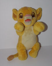 "Disney Babies Simba Plush 14"" The Lion King Stuffed Animal Cub"