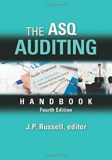 New-The ASQ Auditing Handbook by J.P. Russell 4 ed - INTL ED