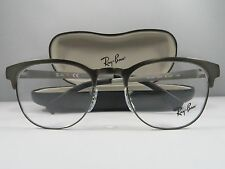 Ray-Ban RB 6317 2834 Clubmaster Gunmetal New Authentic Eyeglasses 51mm w/Case