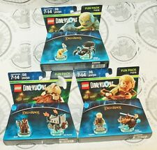 3 LOT LEGO MOVIE DIMENSIONS THE LORD OF THE RINGS LEGOLAS GIMLI GOLLUM PACK NEW