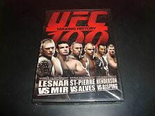 UFC 100 MAKING HISTORY NEW DVD 2009 2-Disc Set Ultimate Fighting Brock Lesner