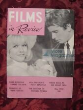 RARE FILMS in REVIEW May 1968 40th Academy Awards Theda Bara Mark Robson