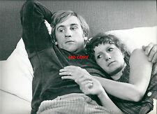 Photo argentique gérard Depardieu actrice film movie cinéma