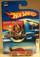 2006 HOT WHEELS FASTER THAN EVER NISSAN SILVIA 515