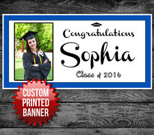 Graduation Graduate School College Personalized Party Banner Decoration