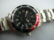 ZENO WATCH Airplane Diver Quartz mit Stahlband