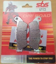 Sherco 4.5i enduro 2006-2010 carbon silver SBS front brake pads SBS671