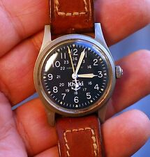 Vintage swiss watch HAMILTON KHAKI cal.649 ETA 2750 military,anchor working