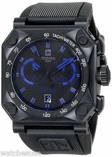 Zodiac ZMX Men's Adventure Chrono Analog Display Swiss Quartz Black Watch ZO8538