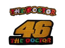 New 2 Valentino Rossi, The doctor Motogp Racing embroidered iron on patch.