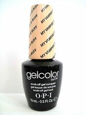 OPI GELCOLOR GC E82 MY VAMPIRE IS BUFF Fashionistas Euro Neutral color .5 oz NEW