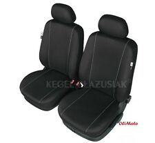 Tailored Black Front Seat Covers For Vauxhall Astra J Mk6 2010 - 2015