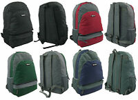 HI-TEC Adult Backpack Rucksack School Bag Mens Ladies Hiking Sports School Uni