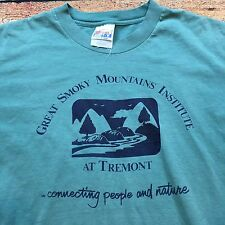 90s VTG GREAT SMOKY MOUNTAINS INSTITUTE M Hiking T Shirt Tremont Hippie