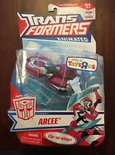 TRANSFORMERS ANIMATED DELUXE CLASS AUTOBOT ARCEE TOYS R US EXCLUSIVE