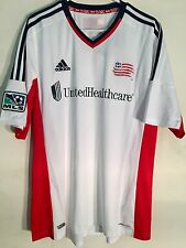Adidas MLS Jersey New England Revolution Team White sz XL