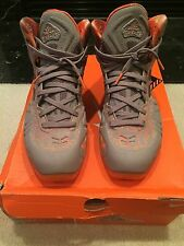 "Nike Hyperposite Max All Star QS China Release ""Hot Lava"" Size 10.5 hologram AS"