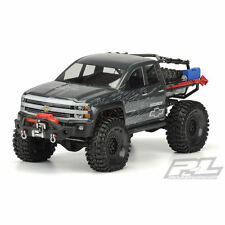 Proline Chevy Silverado Clear Body Axial SCX10 Honcho 313mm - Unpainted - PL3439