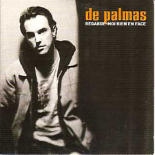 DE PALMAS CD single Regarde moi bien en face 1 track