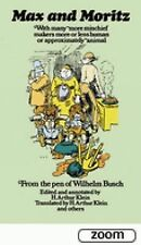 Max and Moritz (Dover Humor), Busch, Wilhelm, New Books