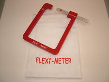 Glass sealed unit measuring gauge all-metal construction in fabric carrying bag