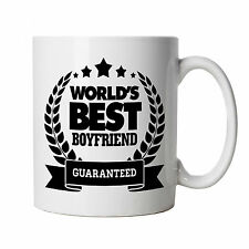 World's Best Boyfriend Mug - Birthday Present Christmas Valentines Day Gift