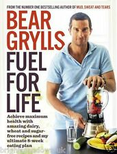 Bear Grylls Fuel 4 Life Wheat Dairy Sugar Free Diet Cook Book Healthy Eating
