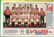#T104. BRISBANE REDCLIFFE DOLPHINS  PINUP IN 1983 RUGBY LEAGUE WEEK