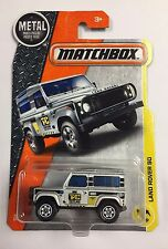 MATCHBOX 2017 LAND ROVER 90 CASE F