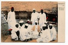 AFRIQUE FRANCAISE Colonie française ZANZIBAR le jeu de cartes