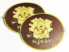 Winnie the Pooh Car Accessory : 2 pcs Spring Sunshade Sunshield #10