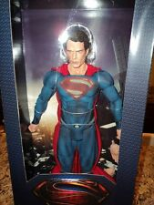 "NECA MARVEL DC COMICS MAN OF STEEL SUPERMAN CLARK KENT HENRY CAVILL 1/4 18"" FIG"