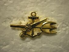 NAVY HAT PIN- UNDERWATER DEMOLITION TEAM (UDT) - GOLD