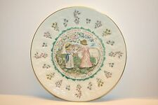Royal Doulton Kate Greenaway Almanack Plate Aries The Ram 1977