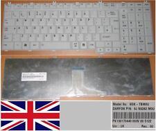 CLAVIER QWERTY UK TOSHIBA P200 P205 P300 X300 NSK-TBM0U 9J.N9282.M0U BLANC