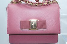 Salvatore Ferragamo Women's Bag Ginny Ross Crossbody Clutch Handbag Leather NWT