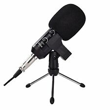 Fifine Studio Condenser Recording Microphone with USB Plug+stand + Anti-wind ...
