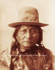 SIOUX INDIAN CHIEF SITTING BULL VINTAGE PHOTO NATIVE AMERICAN 1898 8x10 #21693