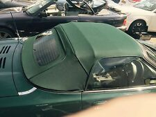 MGF & MGTF  Mk1/2 New Green Mohair Hood & Glass Window Section