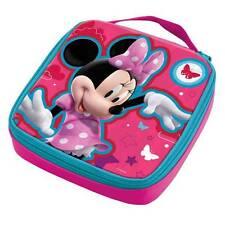 Disney Minnie Mouse Termico Lunchbox Casella Di Colazione Scatola Della Merenda