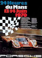 LM02 VINTAGE PORSCHE LE MANS 1970 RACING A4 POSTER PRINT